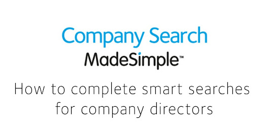 How to complete smart searches for company directors