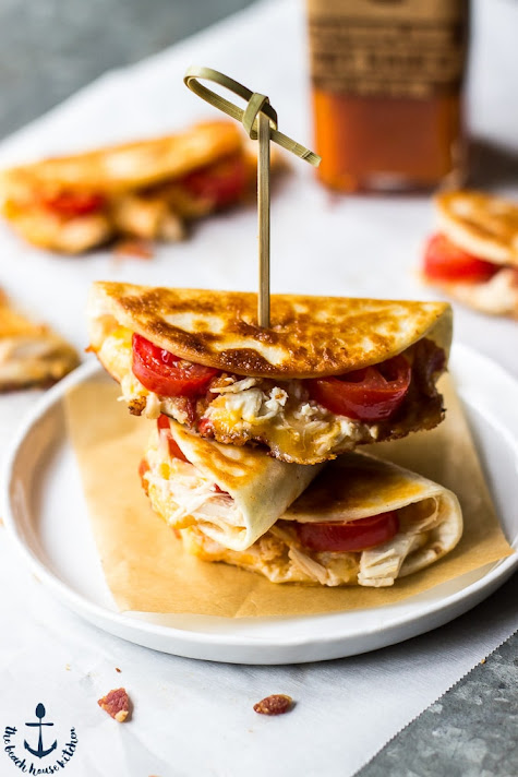 Mini Chicken & Pimento Cheese Quesadillas | The Beach House Kitchen