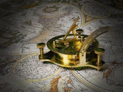 Fondo de Pantalla de Reloj, Reloj De Sol, Calibre, Mapa