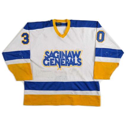 Saginaw Generals 85-86 jersey, Saginaw Generals 85-86 jersey