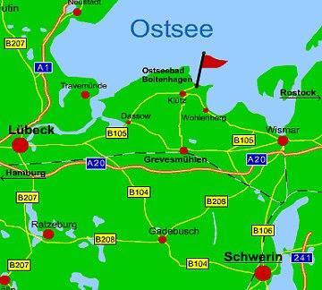 Ostseebad Boltenhagen Karte.Boltenhagen Karte Karte