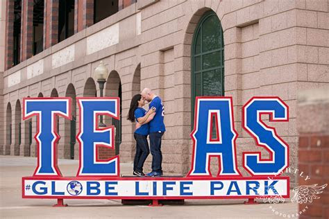 Jess and Bobby ? Engagement Session at Globe Life Park