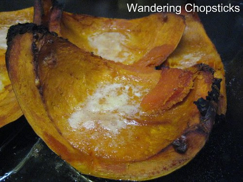 Baked Kabocha Squash with Brown Sugar and Butter 2