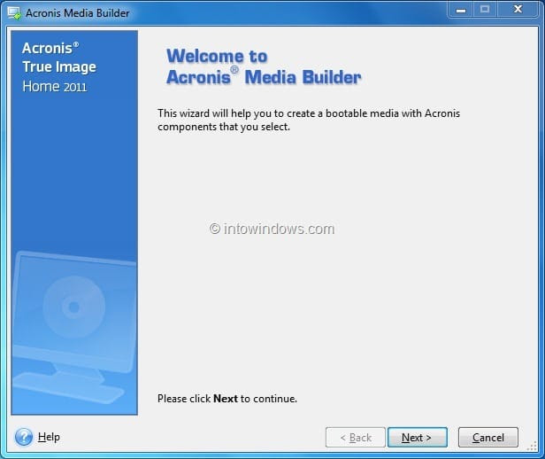 Creating A Bootable Usb Drive From Acronis True Image Iso