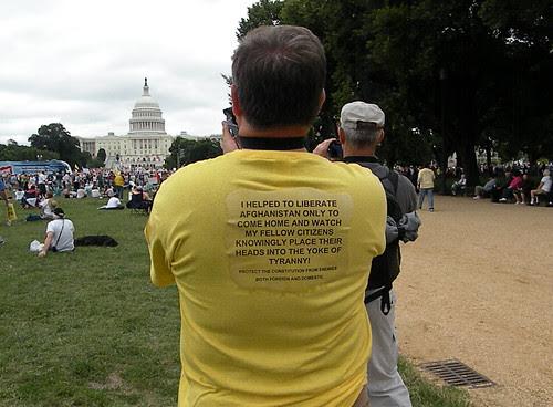 saw thes vets as I walked towards Washington Monument