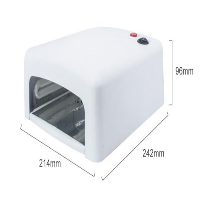 220V 60W UV Ultra Violet 6 LED Light for Curing Glue Resin Cure 3D Printer UK