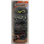 Mattel Matchbox Assorted Car Pack - 5 count