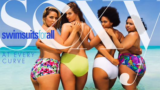 Topless Sports Illustrated Cover Recreated With Curvy Models