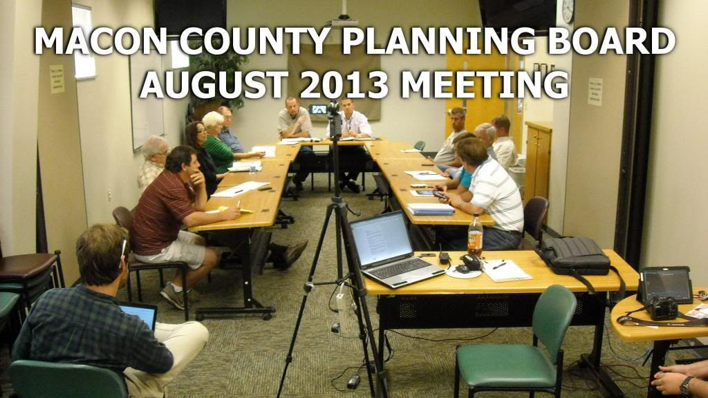 Macon County Planning Board  Photo ©2013 by Bobby Coggins
