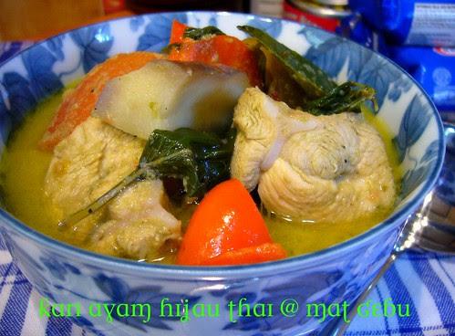 Kari Ayam Hijau Thai