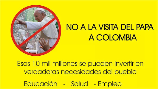 ¿No a la vista del Papa en Colombia? | Blogs El espectador