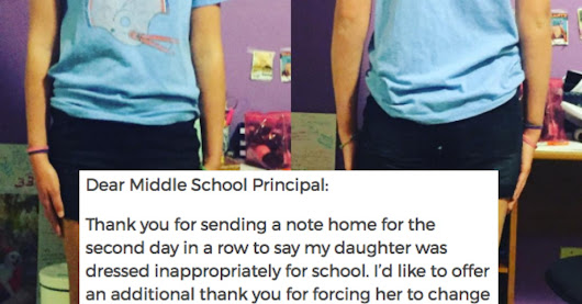 Mom Sends Awesome Letter To Principal After Her Daughter's Dress Code Violation