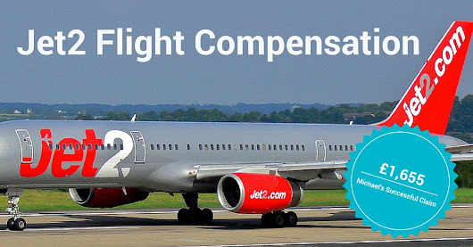 Jet2Flight Compensation - Michael Won £1,655!
