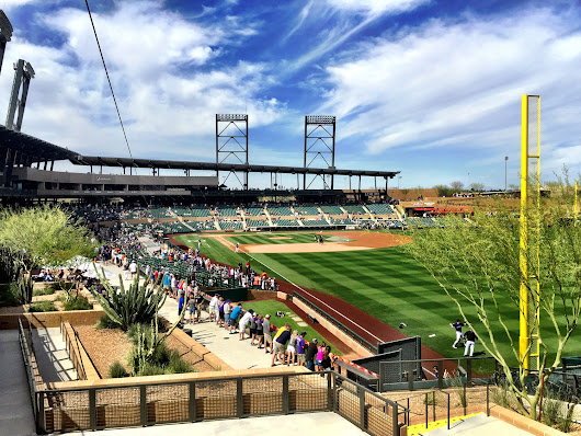 Best of the Ballparks, Cactus League: Salt River Fields - Spring Training Online