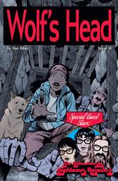 Wolf's Head Issue 14 cover by Von Allan
