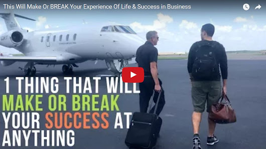 This Will Make Or BREAK Your Experience Of Life & Success in Business | Jairek Robbins