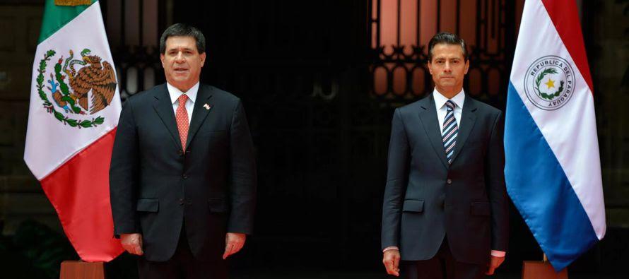 Resultado de imagen para Peña Nieto visitará Paraguay para reforzar vínculos de amistad y cooperación