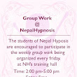 Weekly Group Work for the Students of Nepal Hypnosis | Nepal Hypnosis PsychoSocial Care Center