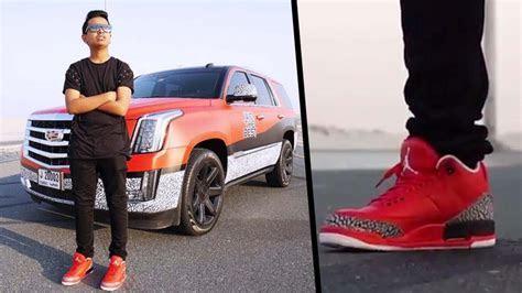 DJ Khaled gifts Sneakers to Money Kicks & Rashed Belhasa