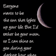 Quotes about Love Sun Moon