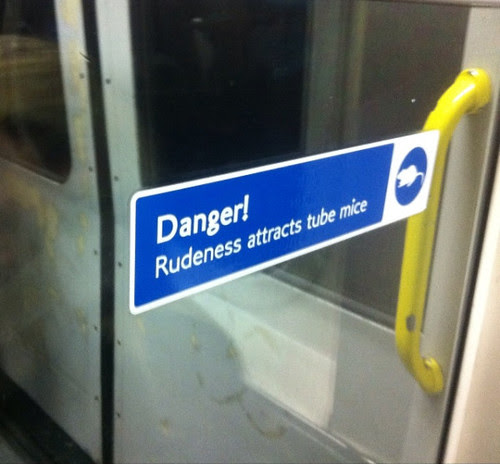 Rudeness Attracts Tube Mice by @Chipwood09