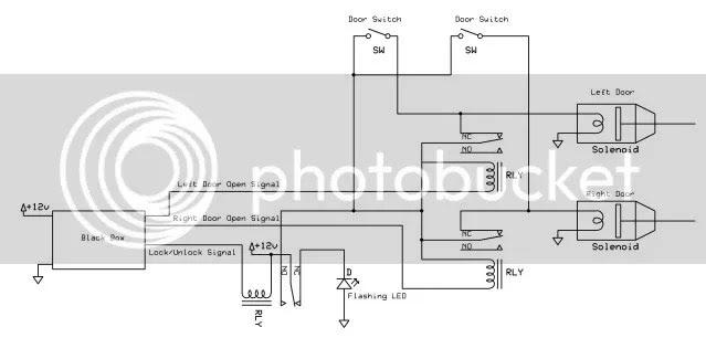 door popper wiring diagram wiring diagram schematics