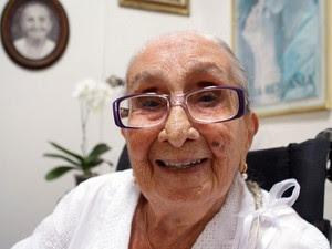 Dona Canô (Foto: Egi Santana/G1)