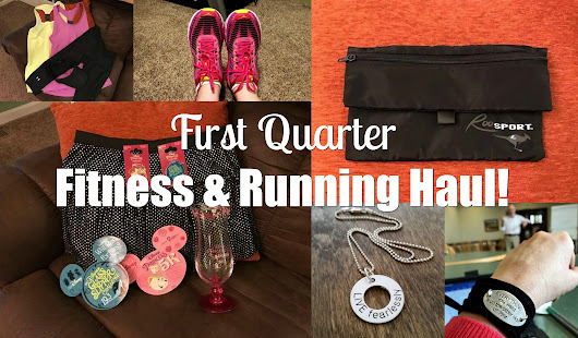 First Quarter Fitness and Running Haul