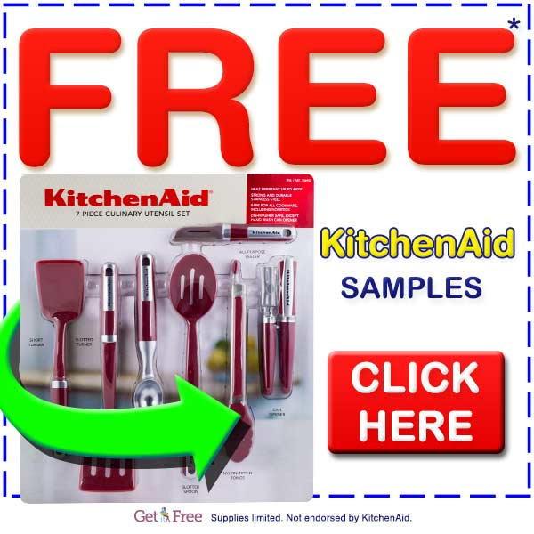 Free KitchenAid Samples. Click Here.