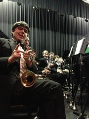 Jacob and the Trumpet Section by Teckelcar