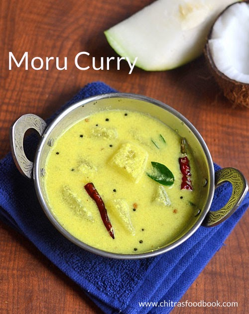 kerala moru curry recipe with kumbalanga  coconut