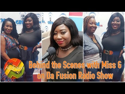 Miss G: Throwback to Miss G on Da Fusion Radio Show