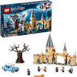 LEGO Harry Potter and The Chamber of Secrets Hogwarts Whomping Willow 75953 Magic Toys Building Kit, Prisoner of Azkaban, Hedwig, Hermoine Granger and