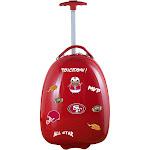 Mojo San Francisco 49ers Kids Luggage - Red