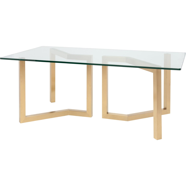 "Nuevo Modern Furniture HGSX170 Paula 78"" Dining Table w ..."