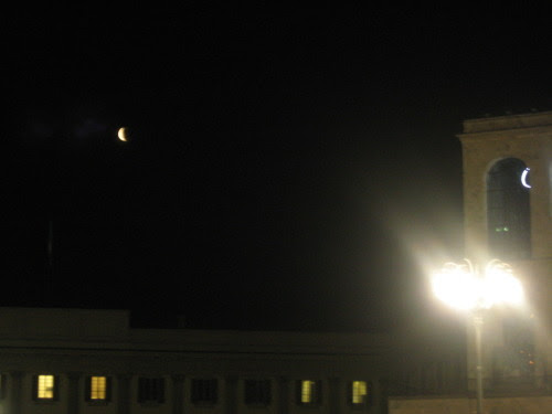 piazza duomo milano eclisse particolare