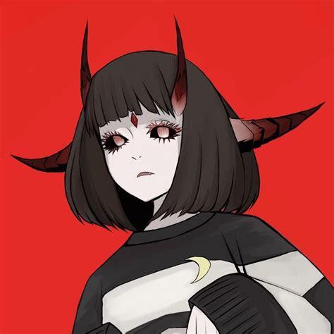 devil girl art art anime artartdark anime