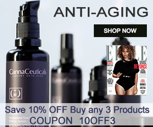 Save 10% COUPON 10OFF3 When You Buy Any 3 Skin Care Anti Aging Products - cbdskincream.com