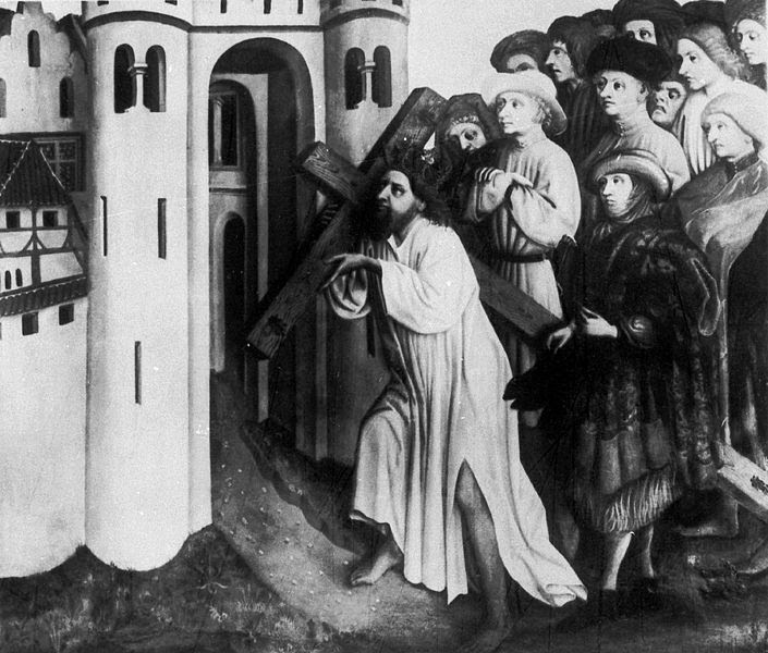 Heraclius Carrying the Cross