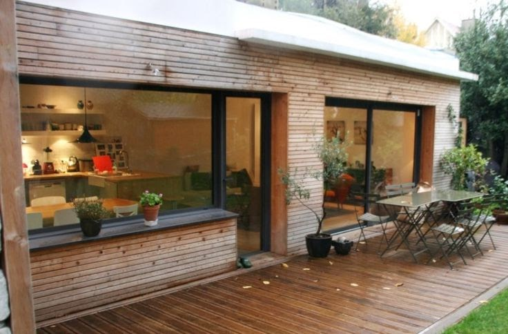 senatuolo extension bardage bois. Black Bedroom Furniture Sets. Home Design Ideas