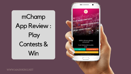 mChamp App Review : : Play Contests & Win -