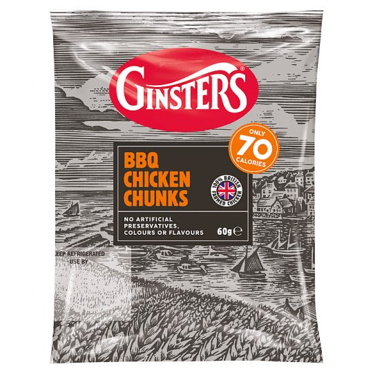 Ginsters Bbq Chicken Bites 60G