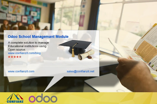 Open source Odoo ERP School/college Management software system
