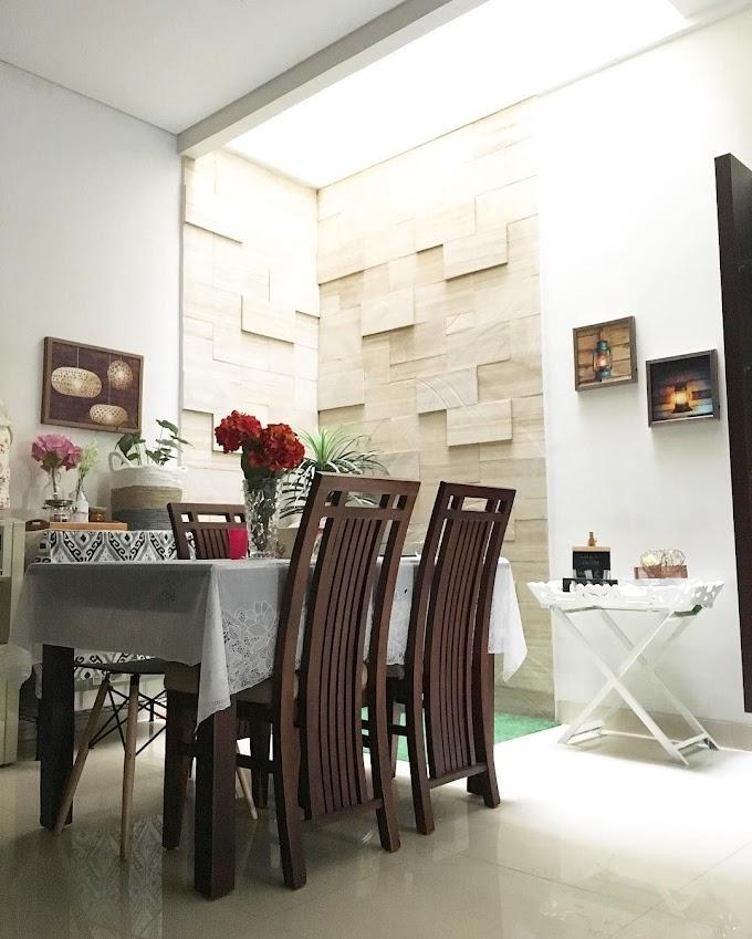 Desain Interior Ruang Keluarga Menyatu Dengan Dapur | Ide Rumah Minimalis