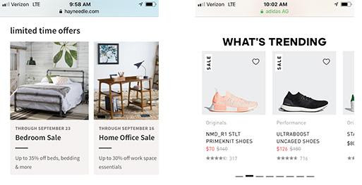 Research: 11 Top Mobile eCommerce CRO Trends from Our Study of Best-in-Class Sites