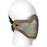 Aleko Pbm209tn Protective Mask Mesh Wire Half Face Chin Mouth Coverage, Tan Color