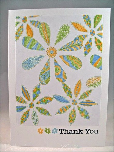 Friendly thanks by debstamps