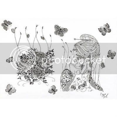Hina aoyama Lace-cut Creation 8