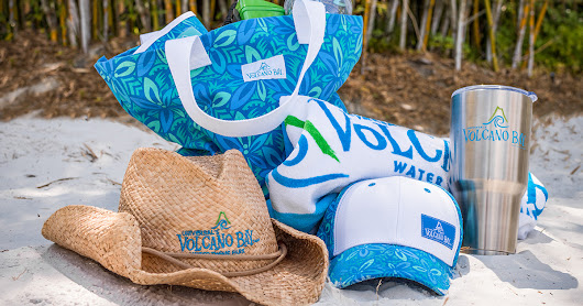 New Merchandise Makes a Splash at Universal's Volcano Bay - Close Up