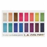 L.A. Colours 16 Colour Eyeshadow Palette Haute